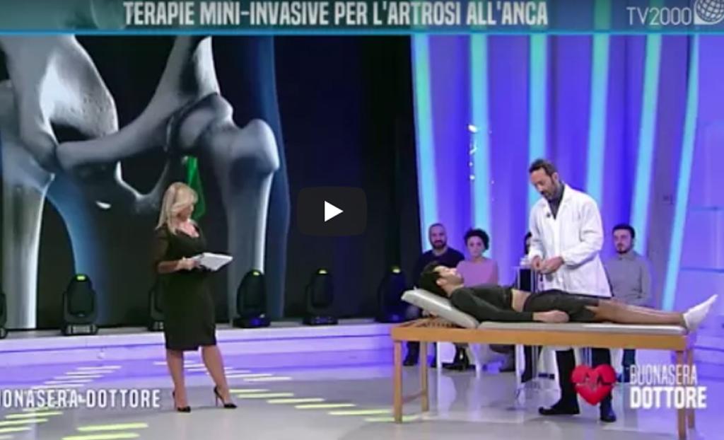 """Terapie mini-invasive per l'artrosi all'anca. Il dottor Pierantonio Gardelin a """"Buonasera Dottore"""""""